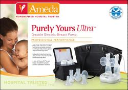 PURELY YOURS ULTRA DOUBLE ELECTRIC BREAST PUMP