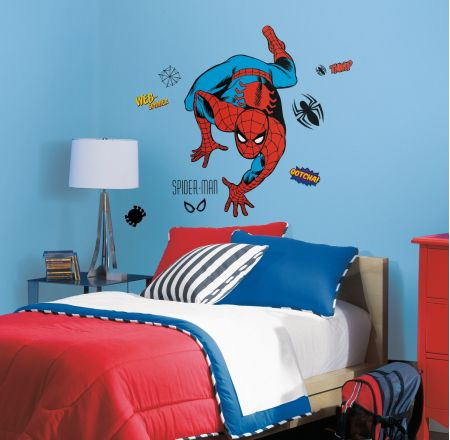 Marvel Classic Spiderman Giant Wall Stickers