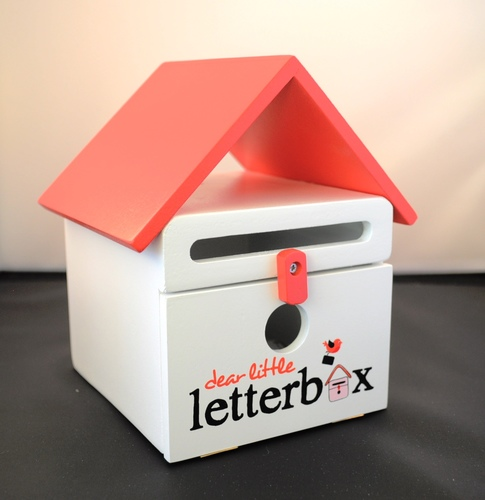 Dear Little Letterbox-Red