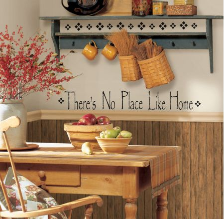 Theres No Place Like Home Quotable Stickers
