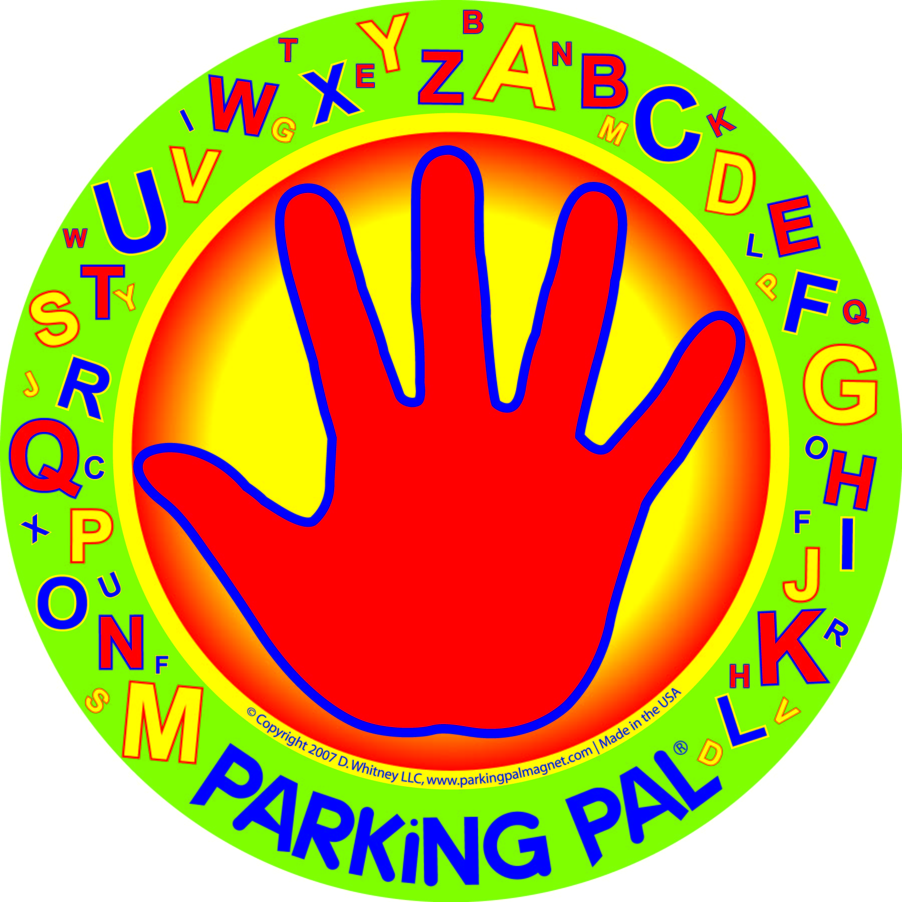Parking Pal Magnet - AlphaPal