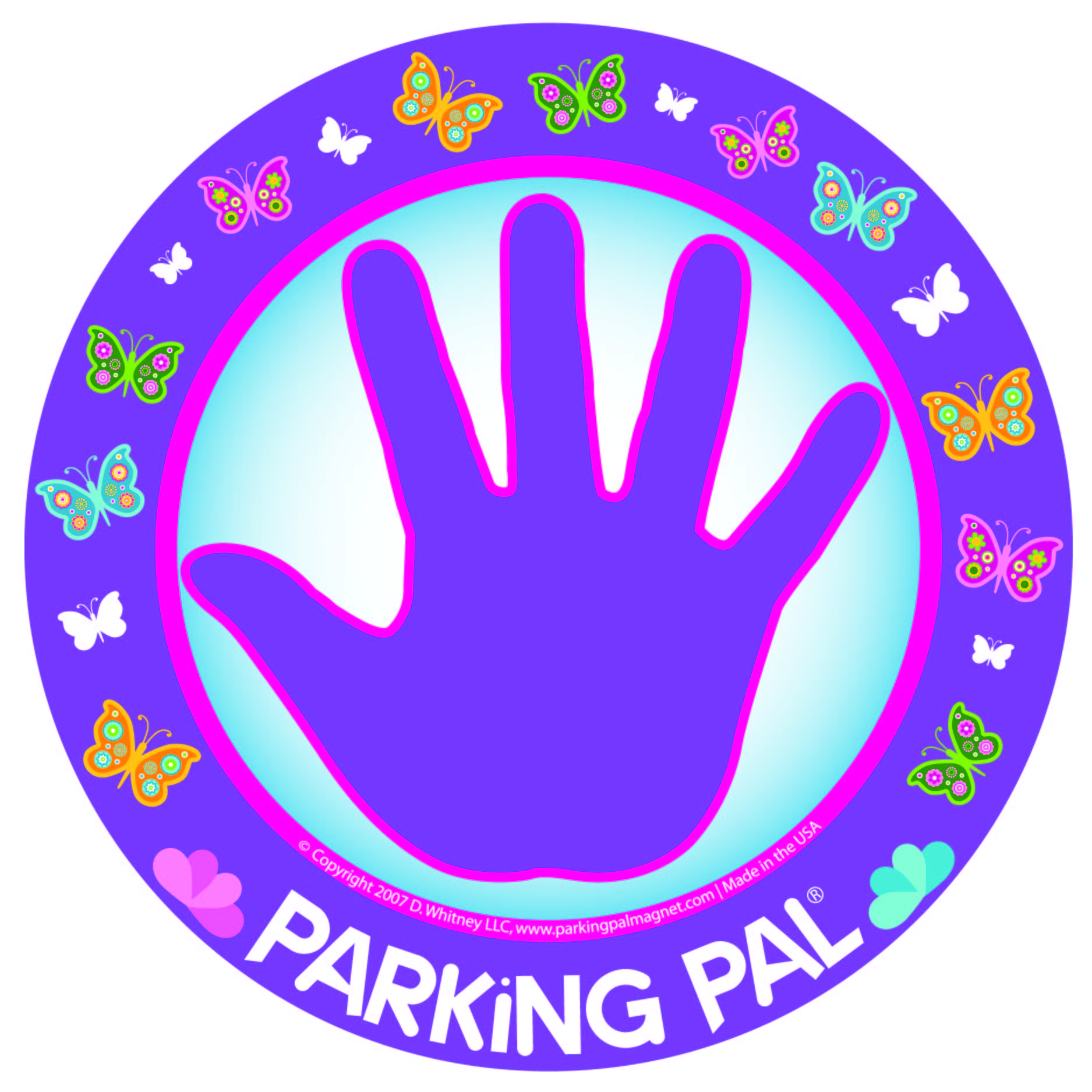 Parking Pal Magnet - ButterflyPal