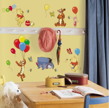 Pooh & Friends Wall Stickers