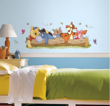 Winnie the Pooh - Outdoor Fun Giant Wall Sticker