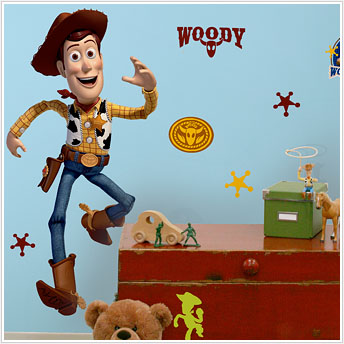 Toy Story Woody Giant Wall Mural