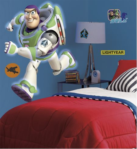 Toy Story Buzz Lightyear Giant Wall Stickers