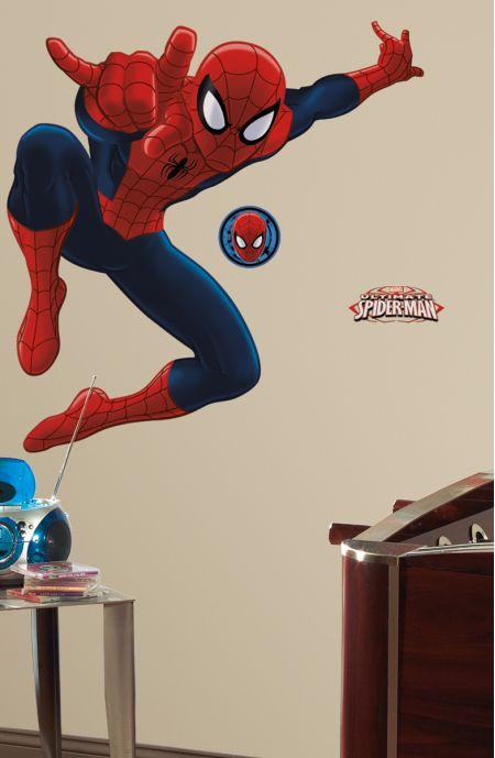 Ultimate Spiderman Giant Stickers