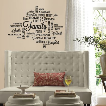 Family Quote Wall Stickers
