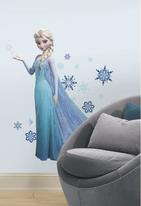 Frozen Elsa Giant Wall Sticker
