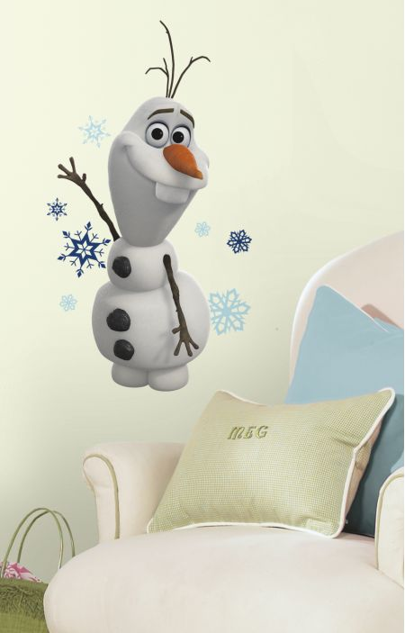 Frozen Olaf The Snow Man Wall Sticker
