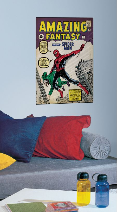 Spider-Man Issue #1 Comic Cover Giant Sticker