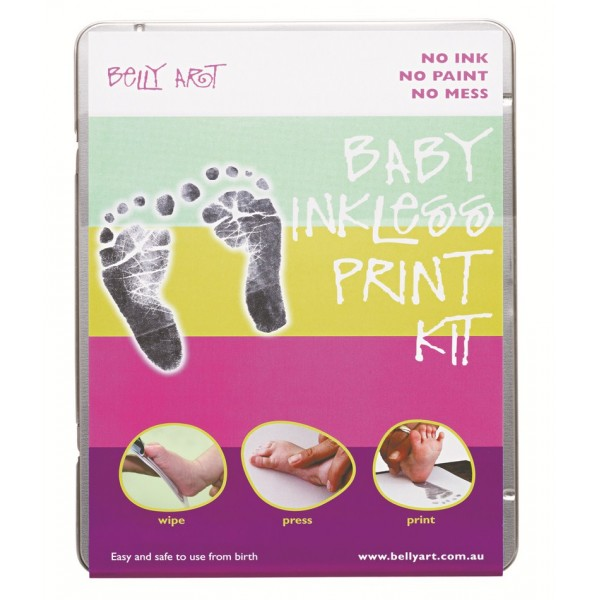 Belly Art Baby Inkless Print Kit